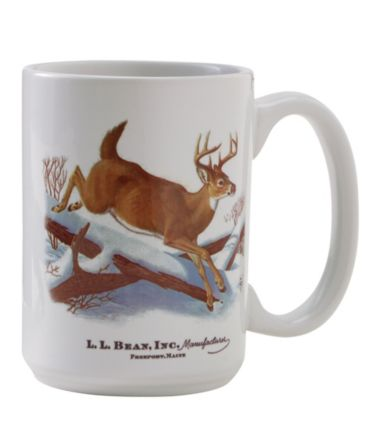MIF&W Ceramic Mug, White-Tailed Deer