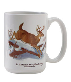 Maine Inland Fisheries and Wildlife Ceramic Mug, White-Tailed Deer
