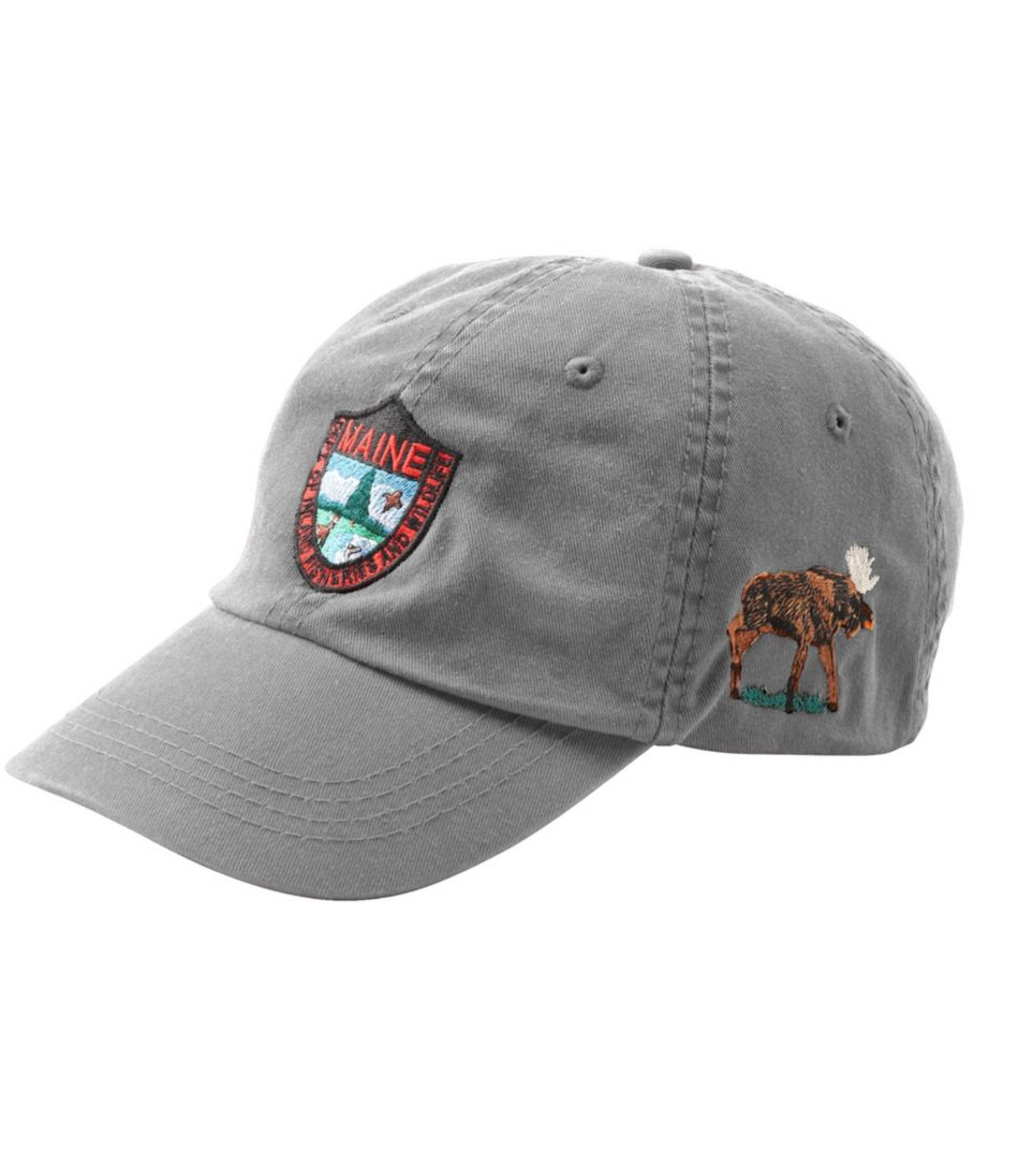 Maine Inland Fisheries and Wildlife Baseball Cap, Moose