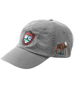 Adults' MIF&W Baseball Cap, Moose