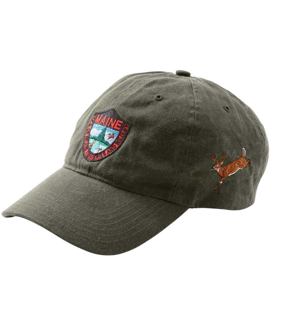 Men's MIF&W Waxcloth Hat, White-Tailed Deer