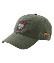 Men's MIF&W Waxcloth Hat, Brook Trout