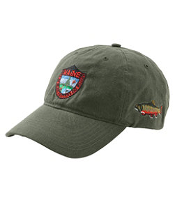 Adults' MIF&W Waxcloth Hat, Brook Trout