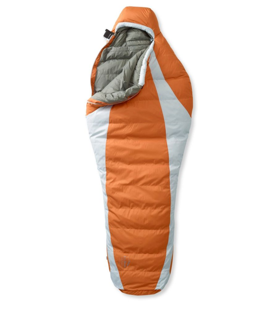 photo: L.L.Bean Men's Down Sleeping Bag with DownTek, Mummy 0°