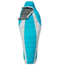 L.L.Bean Down Sleeping Bag with DownTek, Women's Mummy 0°