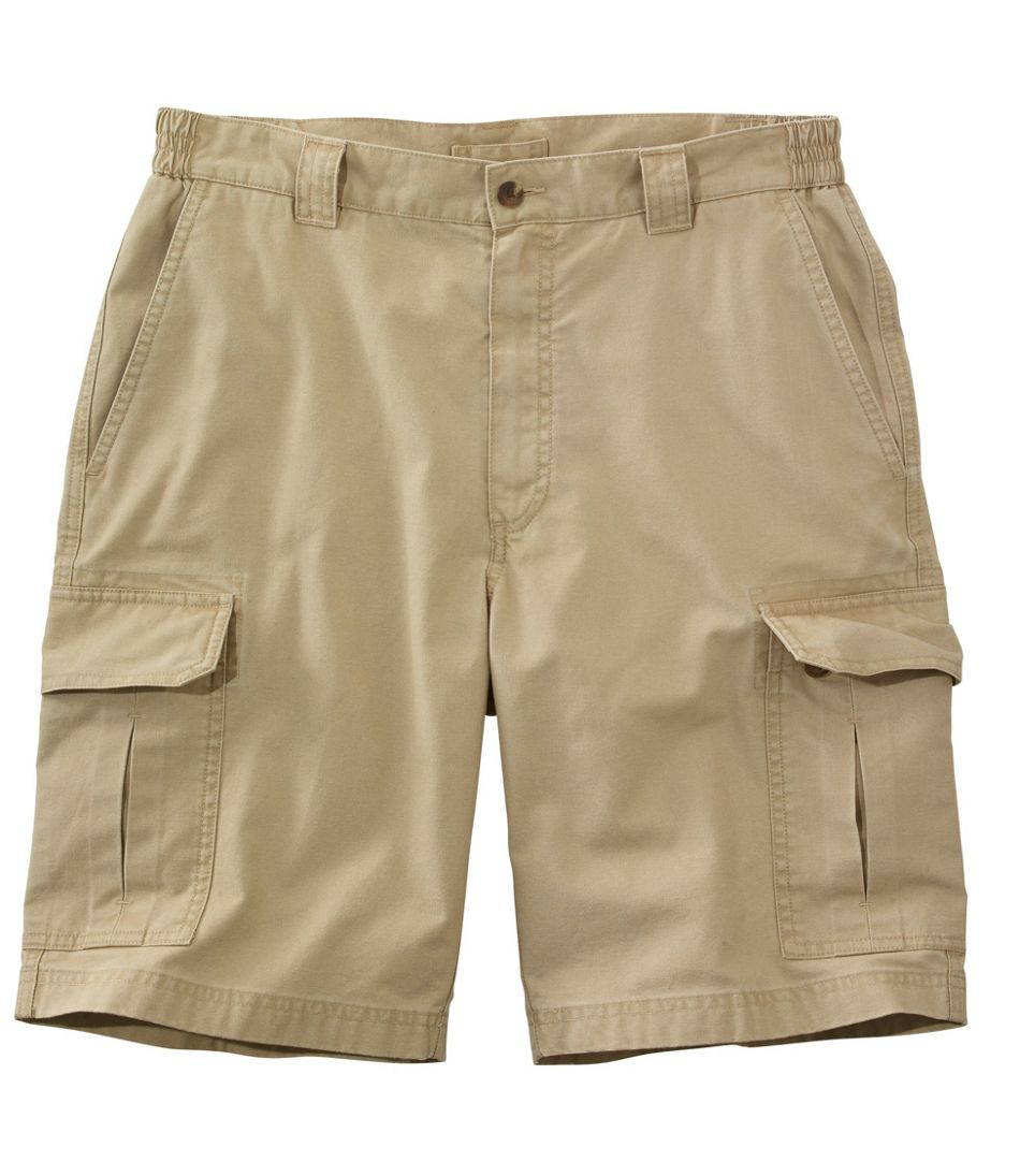 "Men's Tropic-Weight Cargo Shorts, Comfort Waist 10"" Inseam"