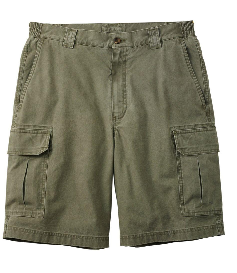 "Tropic-Weight Cargo Shorts, Comfort Waist 10"" Inseam"