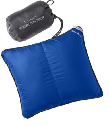 Stowaway Down Pillow with DownTek
