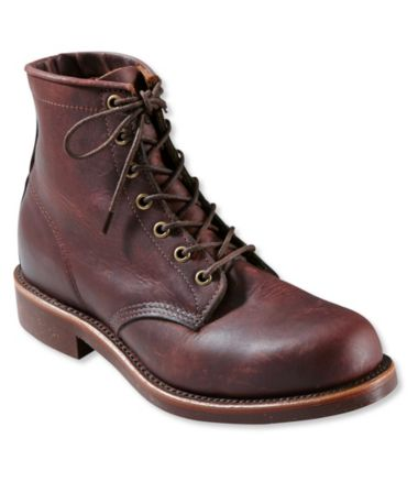Katahdin Iron Works Engineer Boots, Plain-Toe