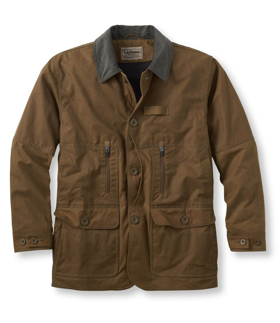 Men's Upland Hunter Field Coat, Waxed Cotton