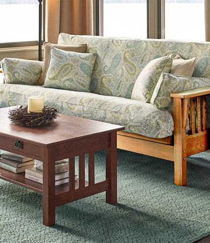 Mission Futon. Furniture Collections   Indoor Furniture at L L Bean