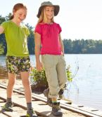 Girls' Adventure Roll-Tab Pants