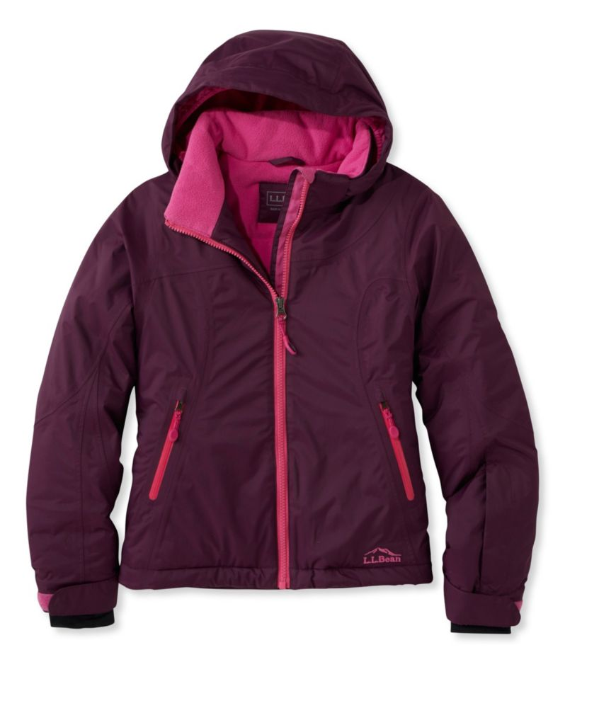 photo: L.L.Bean Girls' Glacier Summit Waterproof Jacket