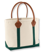 Leather Handle Boat and Tote