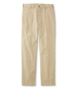 Tropic-Weight Chino Pants, Natural Fit Plain Front