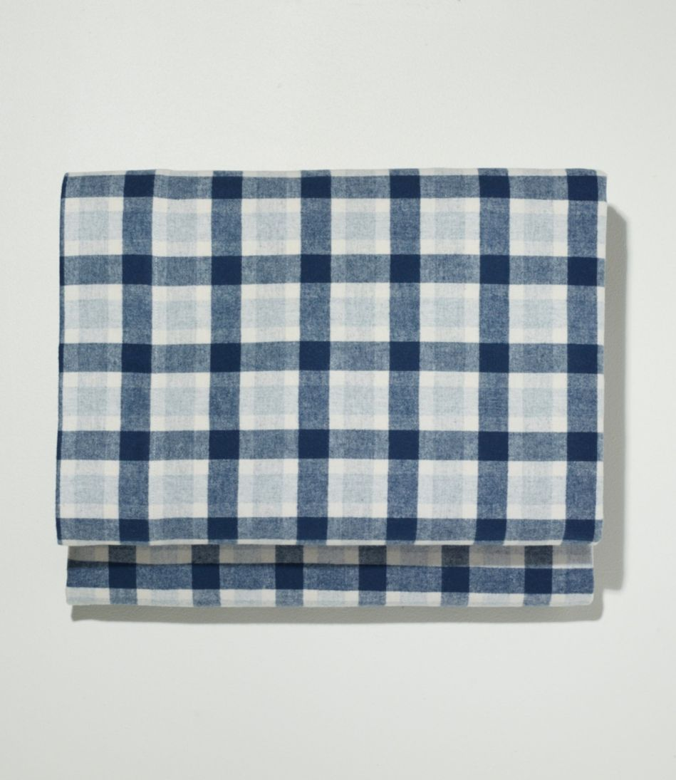 Ultrasoft Comfort Flannel Sheet, Fitted Plaid