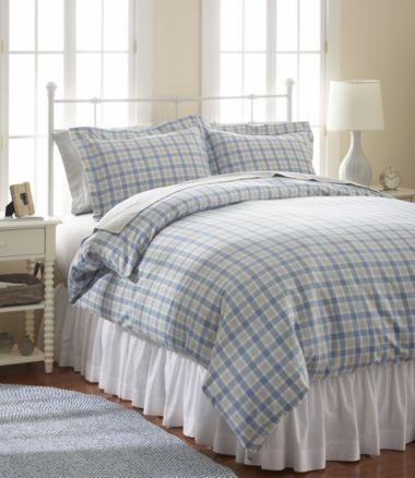 Ultrasoft Comfort Flannel Comforter Cover, Plaid