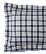 Ultrasoft Comfort Flannel Sham, Plaid