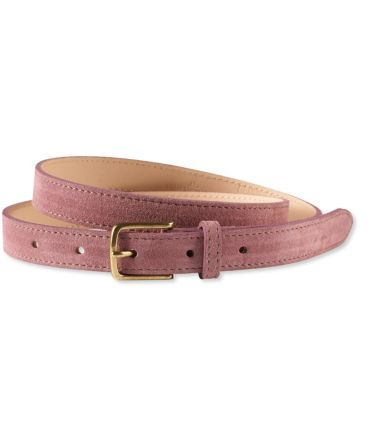 "Signature Suede 3/4"" Belt"