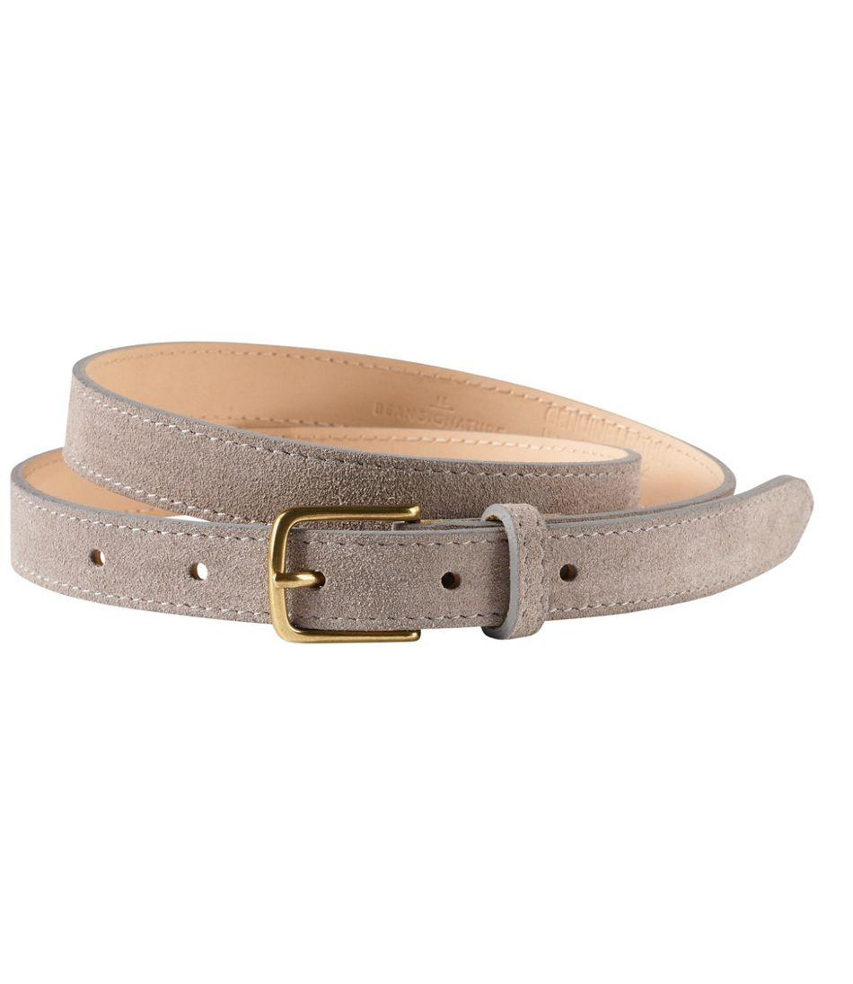 "Suede 3/4"" Belt"