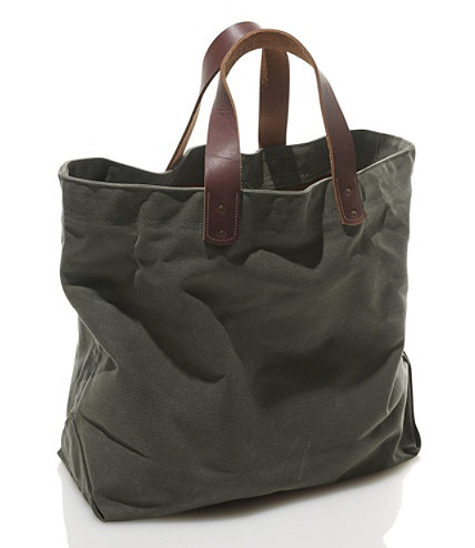 Signature Waxed-Canvas Tote | Free Shipping at L.L.Bean