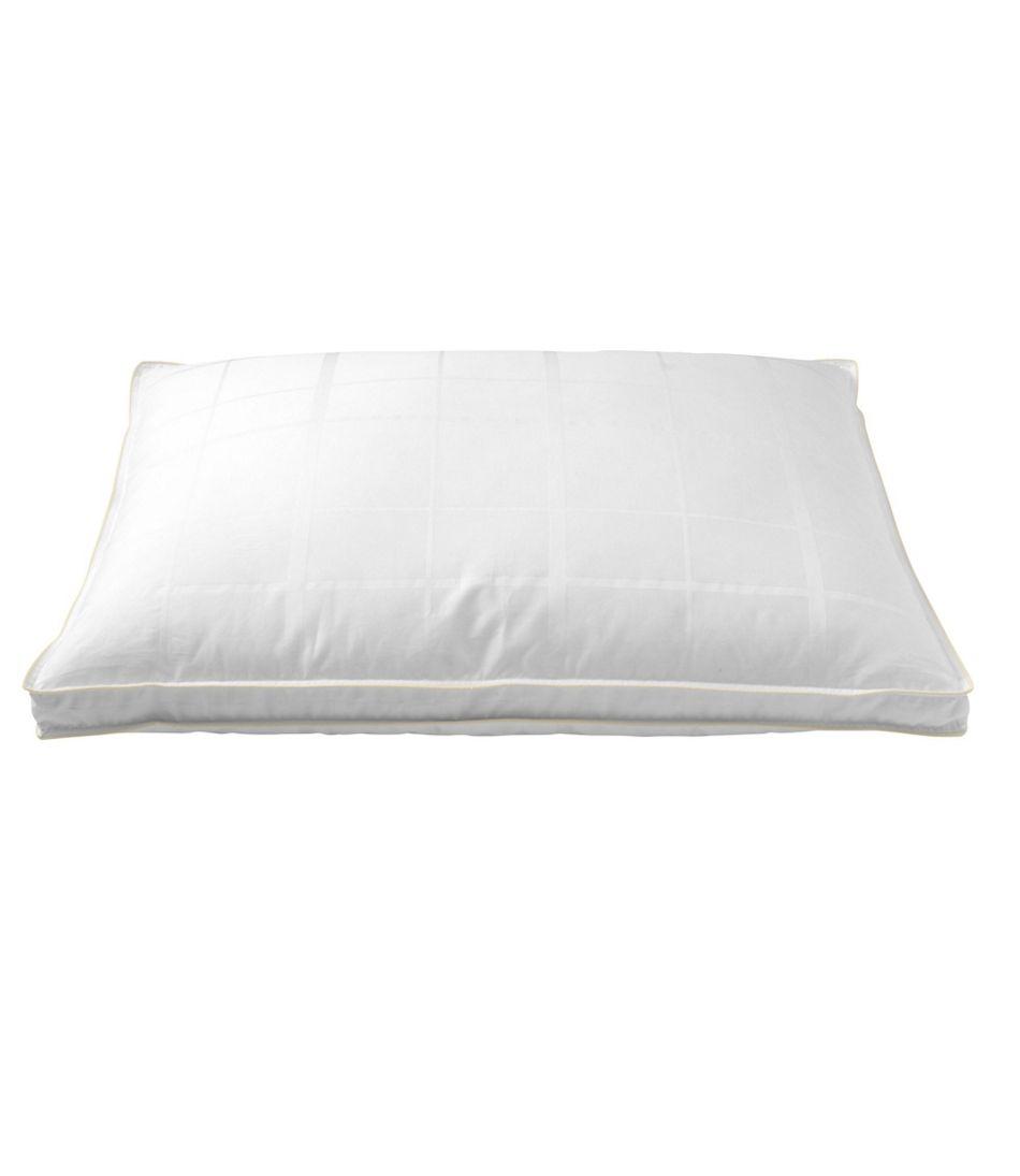 700-Fill-Power Sateen White Goose Down Pillow