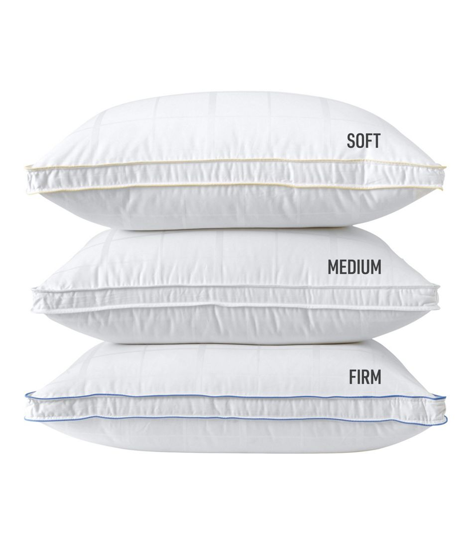 700-Fill-Power Sateen White Goose Down Pillow