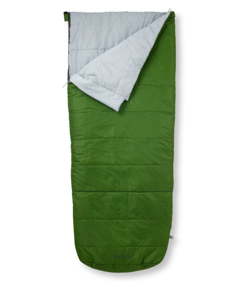 L.L.Bean Switch Sleeping Bag, Rectangular 35/50F