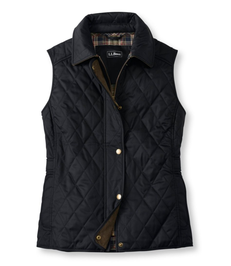 Quilted Riding Vest