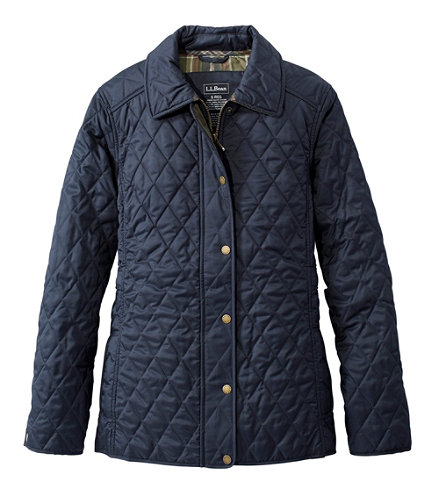 Women S Quilted Riding Jacket