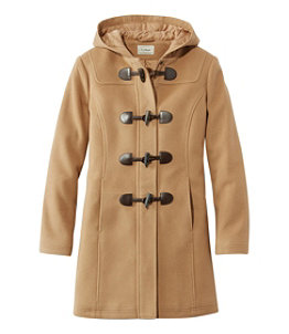 Women's Classic Lambswool Duffel Coat