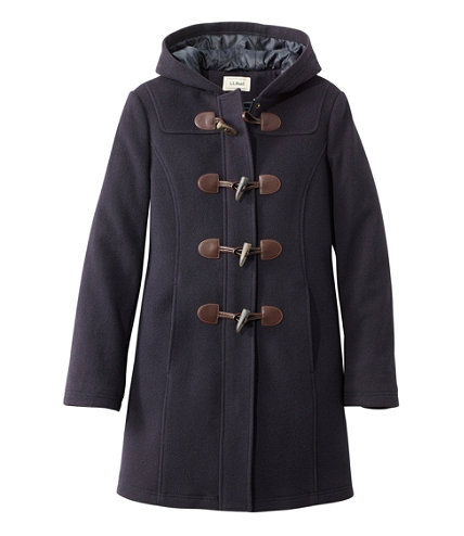 Women's Classic Lambswool Duffel Coat | Free Shipping at L.L.Bean