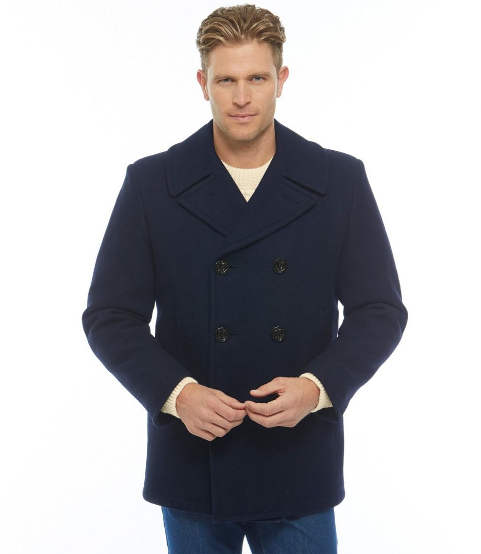 latest sale purchase newest forefront of the times Authentic Wool Pea Coat