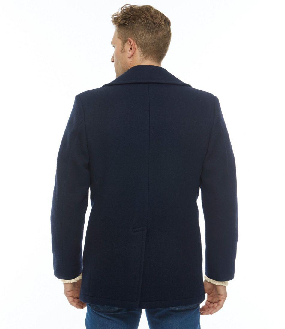 Authentic Wool Pea Coat