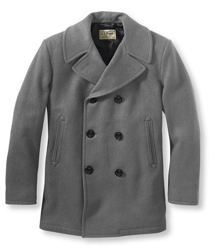 Authentic Wool Pea Coat | Free Shipping at L.L.Bean