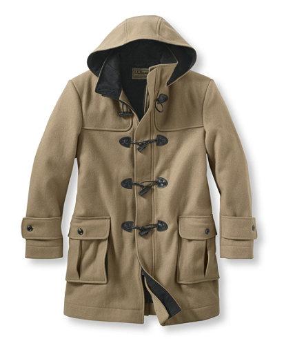 Men's Authentic Wool Duffel Coat | Free Shipping at L.L.Bean