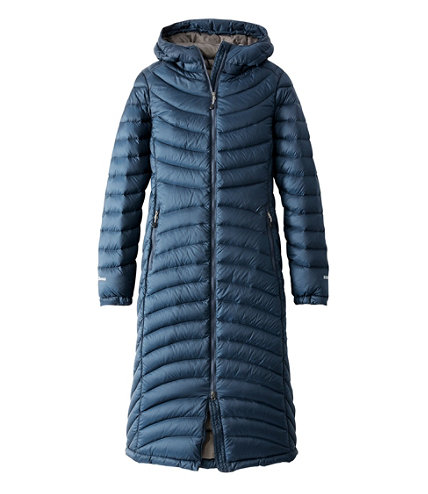 Women&39s Ultralight 850 Down Coat Long | Free Shipping at L.L.Bean