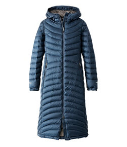 Women's Ultralight 850 Down Coat, Long