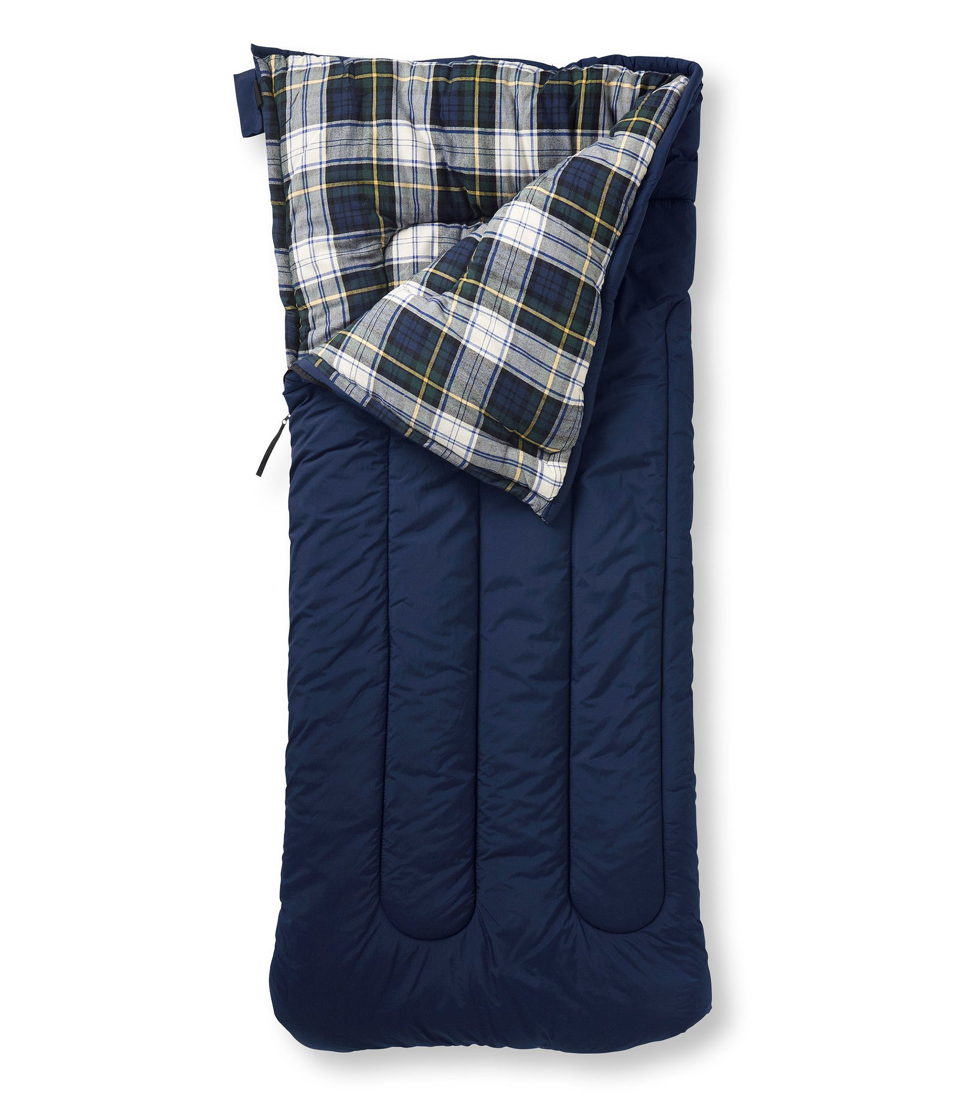 Camp Sleeping Bag, Flannel-Lined 40 | Free Shipping at L.L.Bean