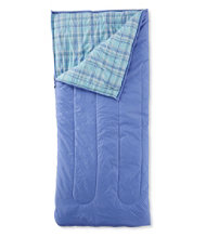 Camp Sleeping Bag Kids Flannel Lined 40