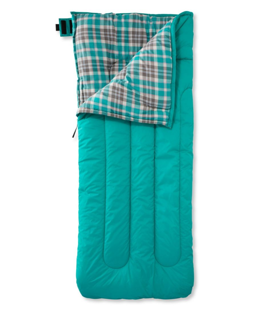 Camp Sleeping Bag, Kids' Flannel-Lined 40°