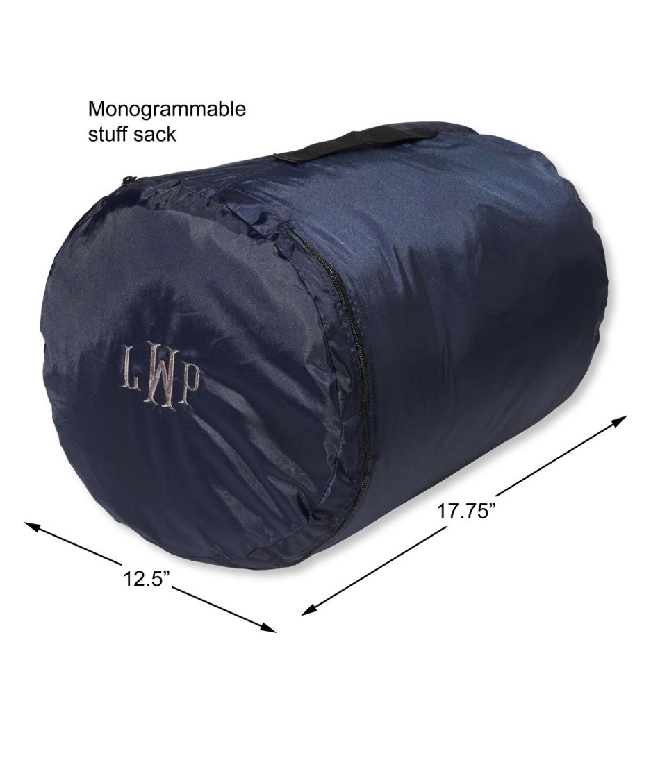 Adults' Camp Sleeping Bag, Flannel-Lined 20°