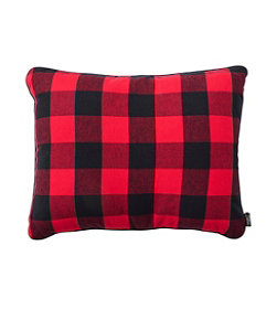 Flannel Camp Pillow