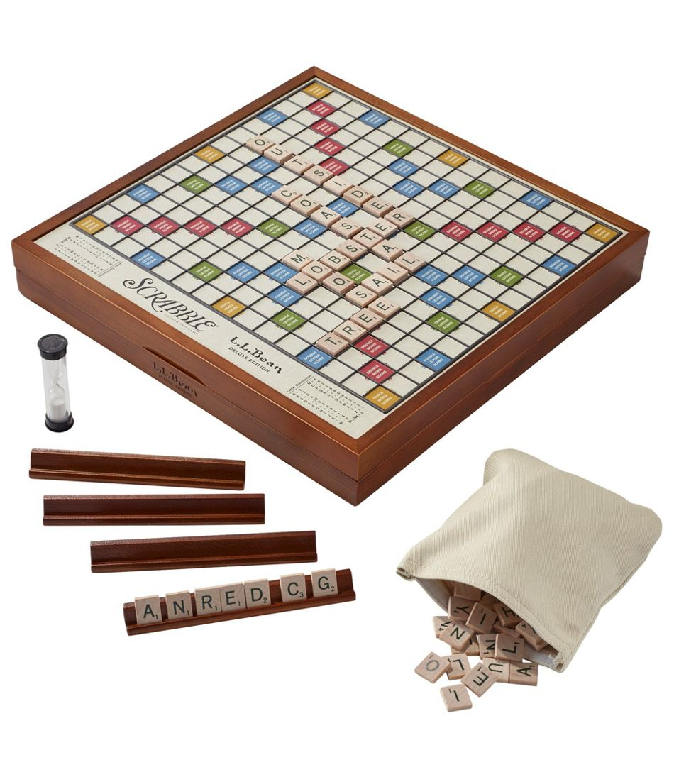 L.L.Bean Deluxe Scrabble