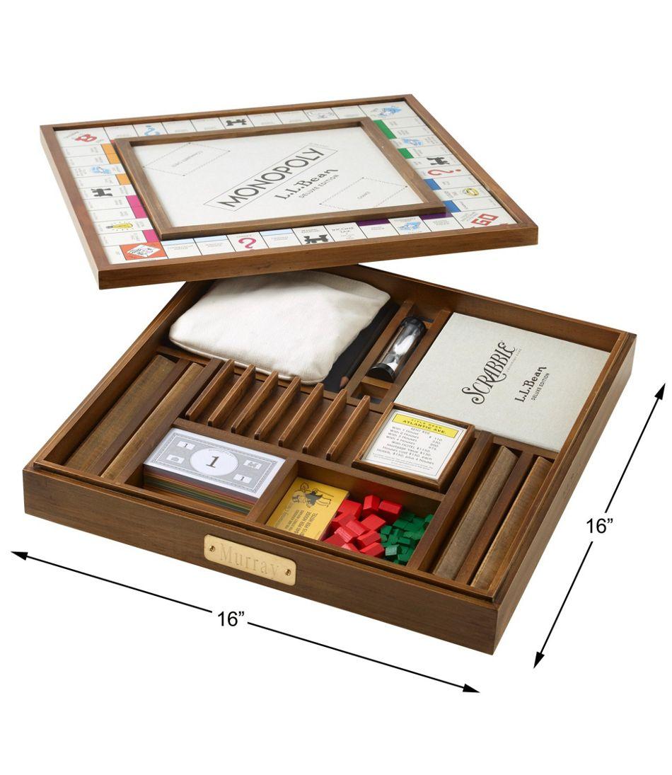 L.L.Bean Deluxe Scrabble/Monopoly