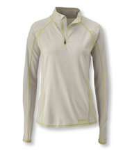 Polartec Power Dry Stretch Base Layer, Lightweight Quarter-Zip