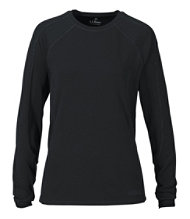 Polartec Power Dry Stretch Base Layer, Midweight Long-Sleeve Crew