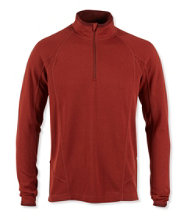 Polartec Power Dry Stretch Base Layer, Midweight Quarter-Zip