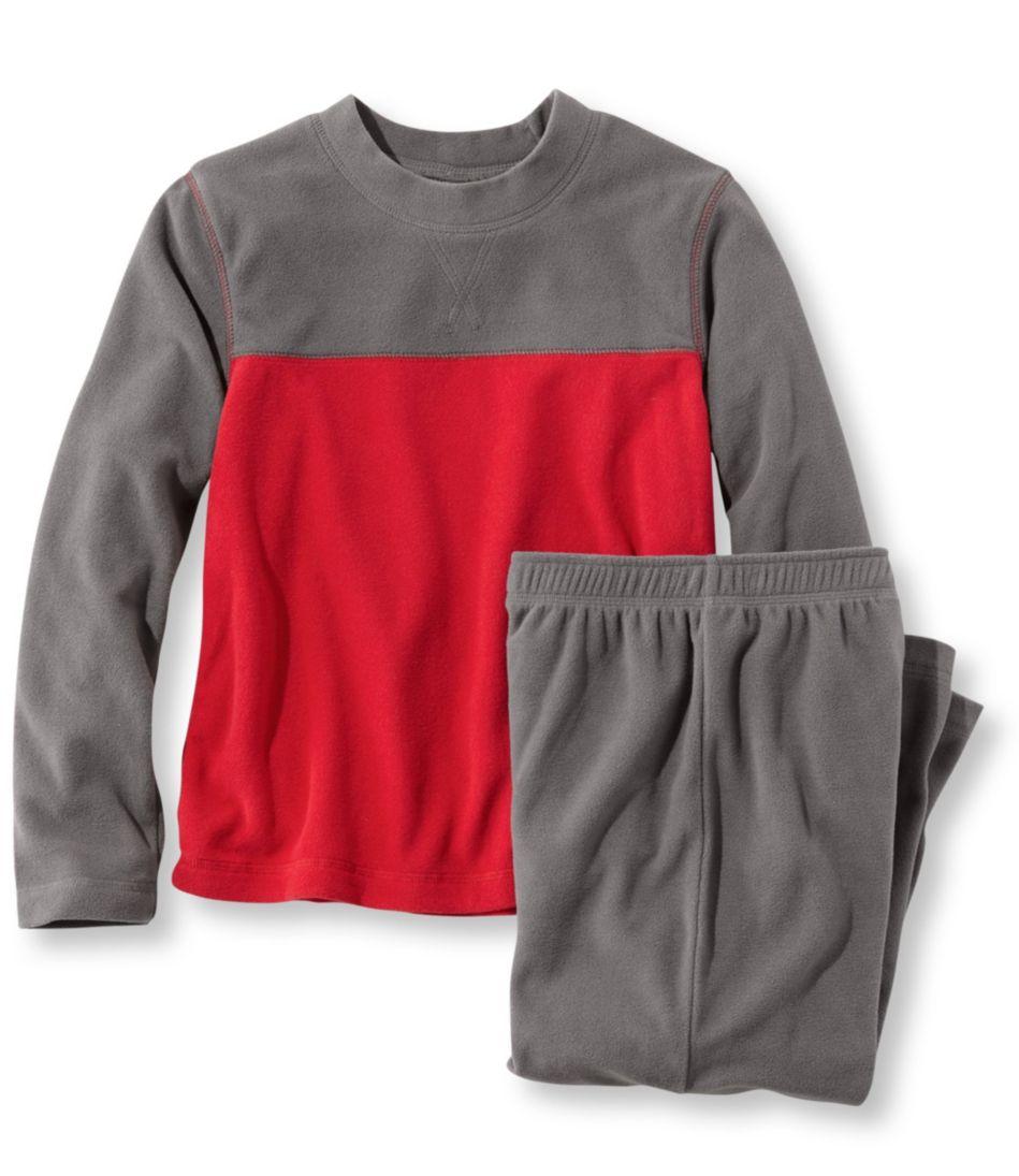 Boys' Cozy Fleece Pajama Set