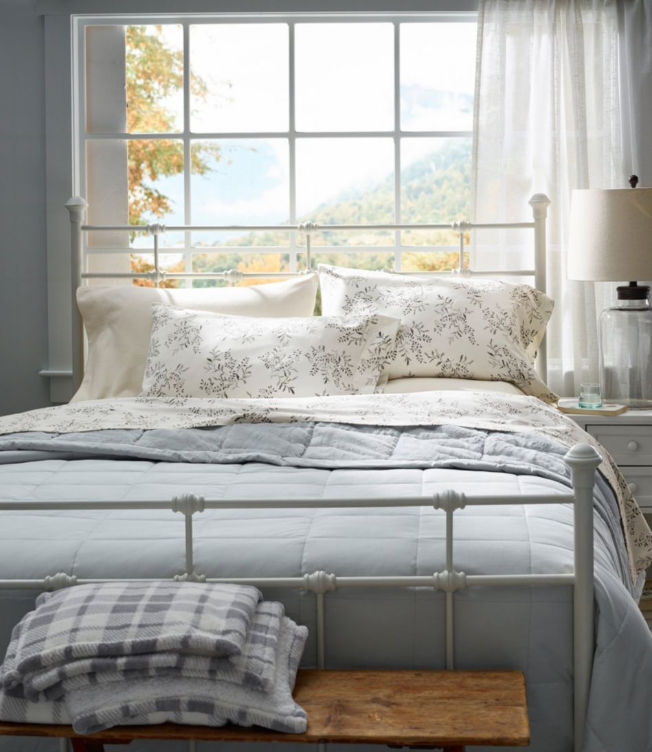 Ultraplush Sateen Blanket, Down-Filled